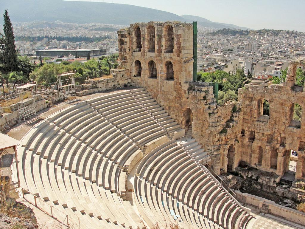 Grécia - Atenas - Teatro Romano