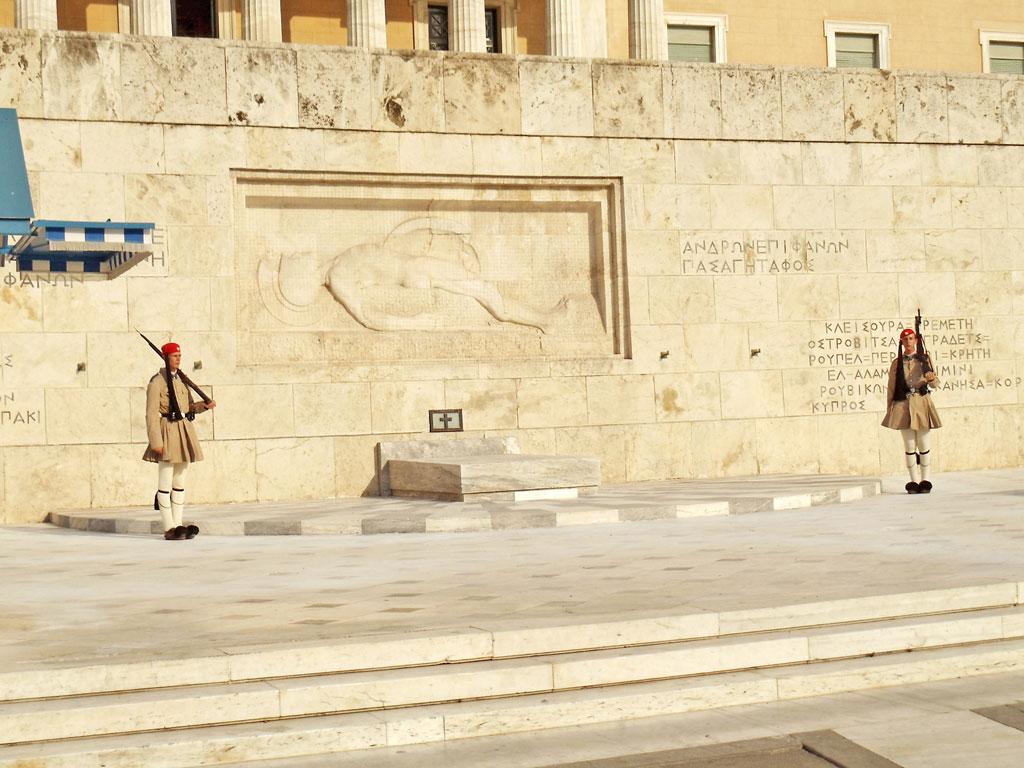 Grécia - Atenas - Troca da Guarda no Parlamento