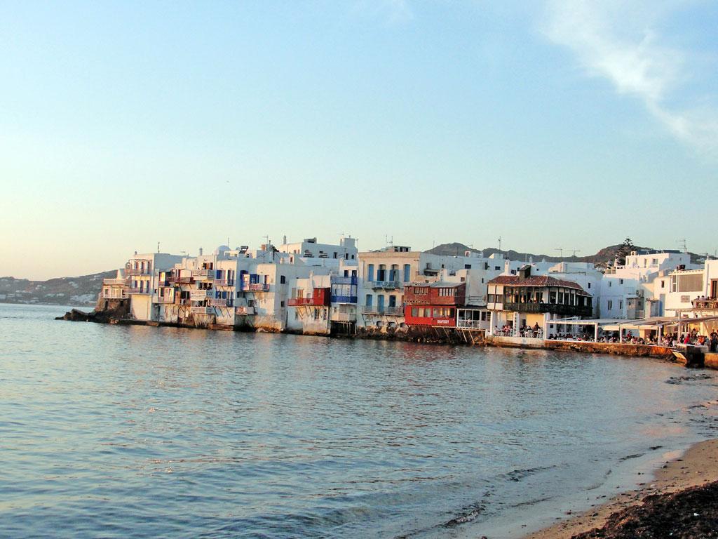 Grécia - Ilhas Gregas - Mykonos - Little Venice