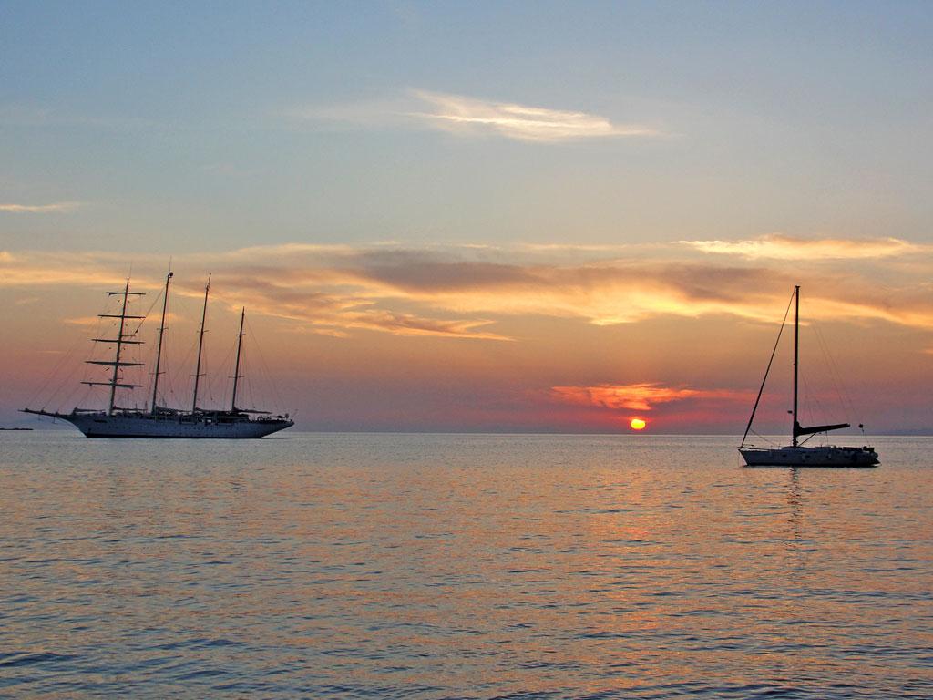 Grécia - Ilhas Gregas - Mykonos - Por do Sol