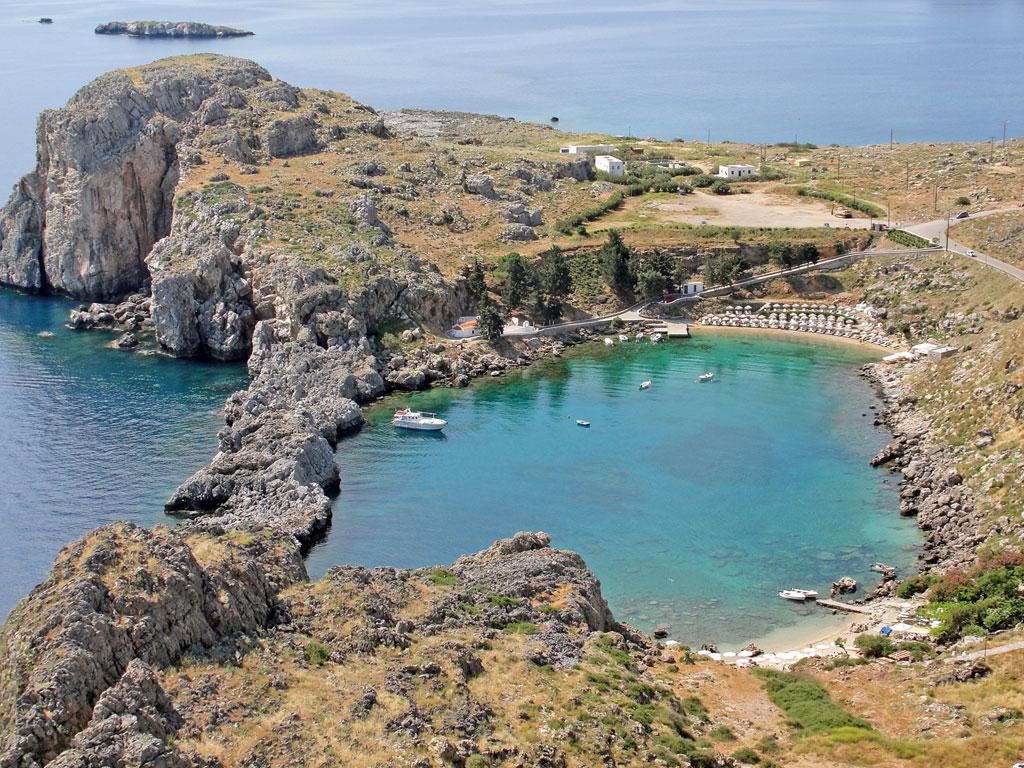 Grécia - Ilhas Gregas - Rhodes - Acrópolis de Lindos