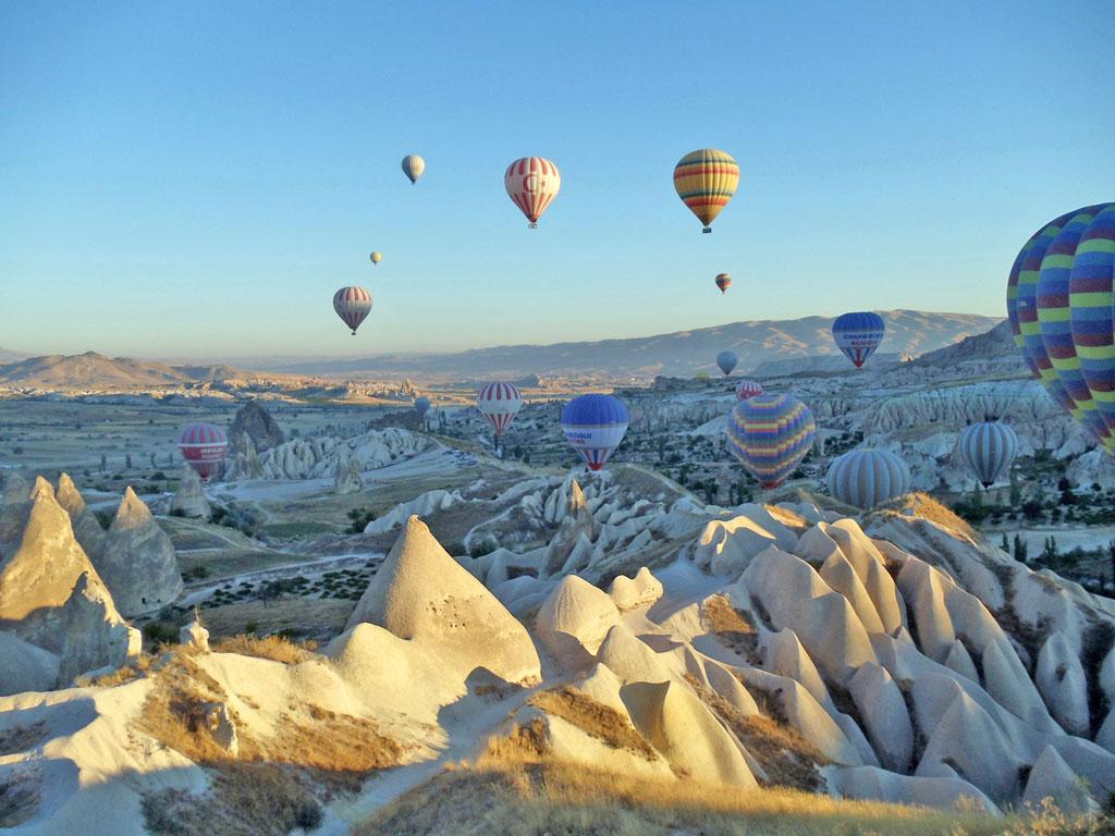 Turquia - Capadócia - Passeio de Balão
