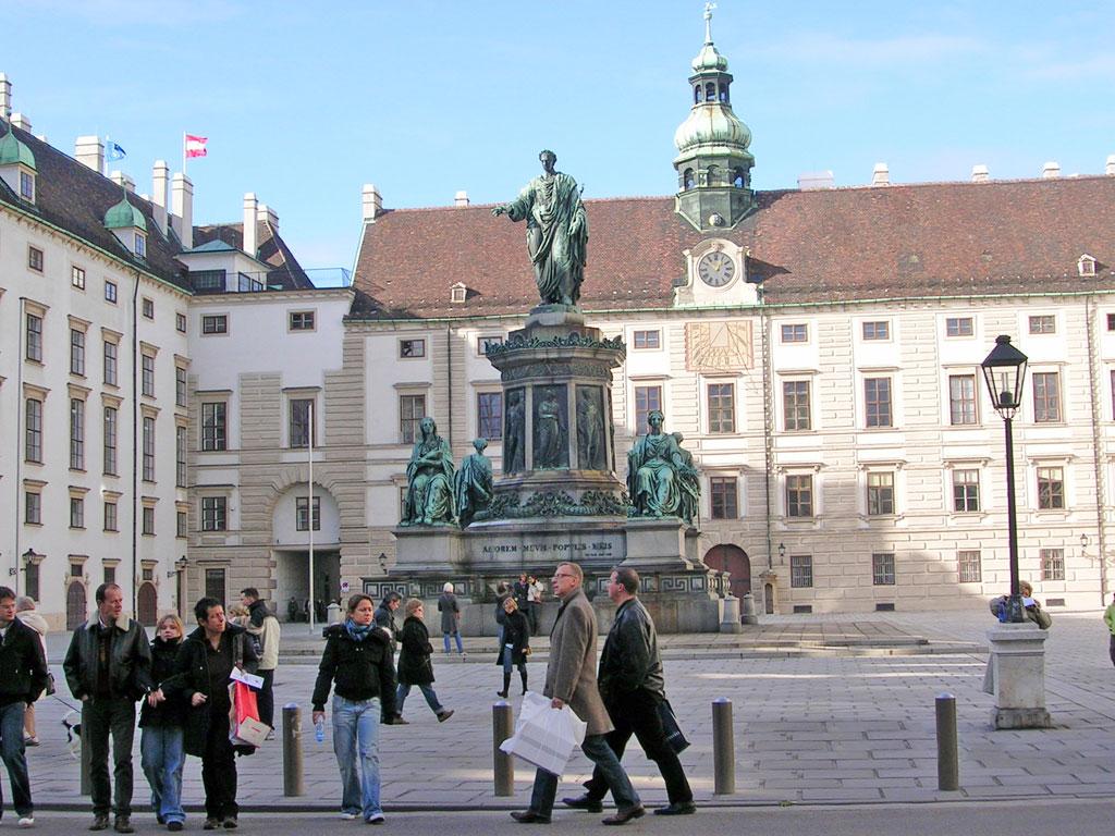 Áustria - Viena - Fonte Hofburg