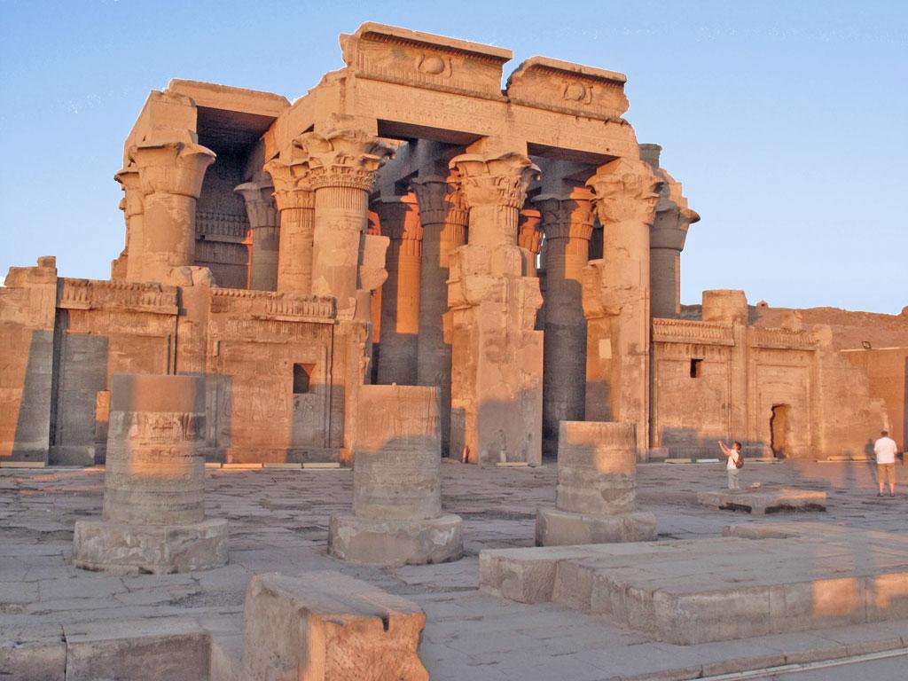 Egito - Kom Ombo - Templos de Sobek e Haroeris