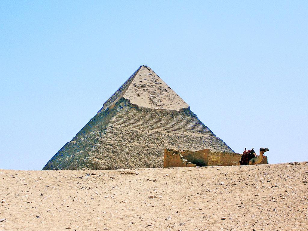 Egito - Gizé - As famosas Pirâmides