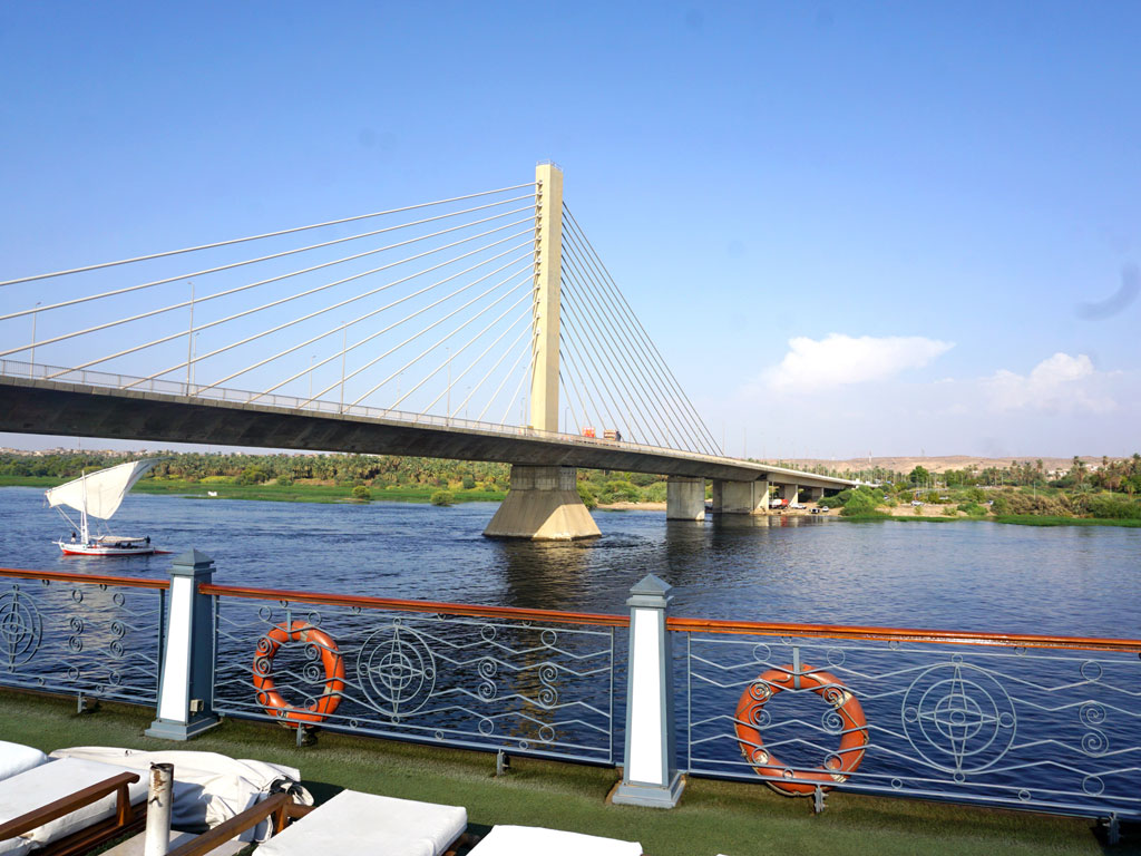 Egito - Cruzeiro pelo rio Nilo