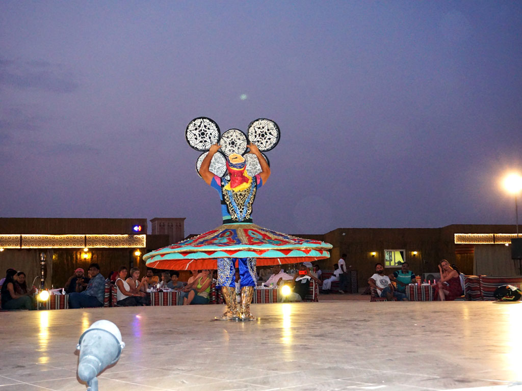Dubai - Show típico
