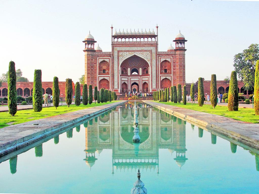 Índia - Agra - Complexo do Taj Mahal