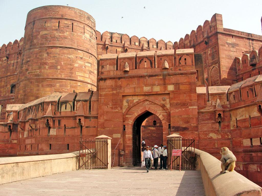Índia - Agra - Forte Vermelho