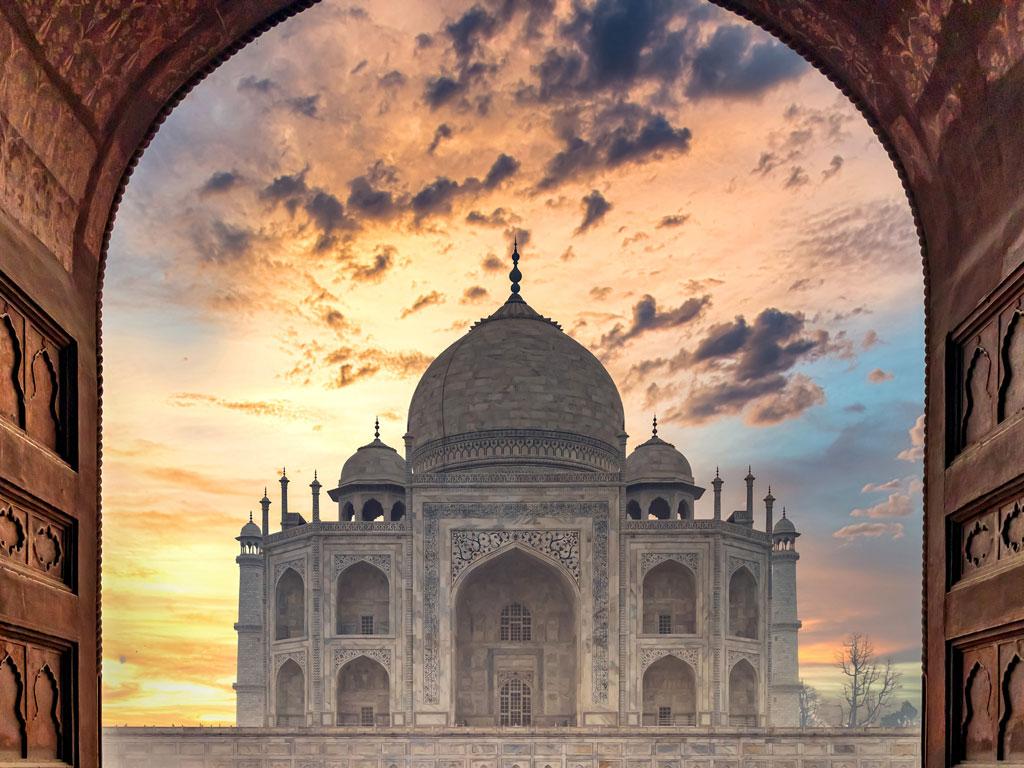 Índia - Agra - Taj Mahal