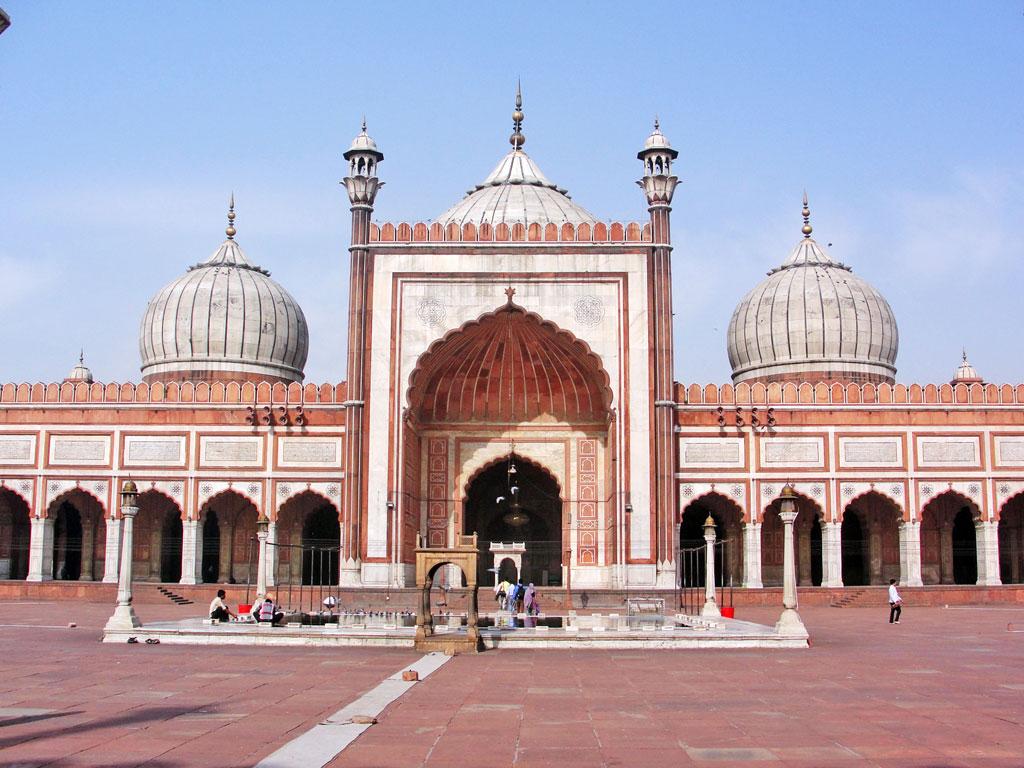 Índia - Delhi - Mesquita Jama Masjid