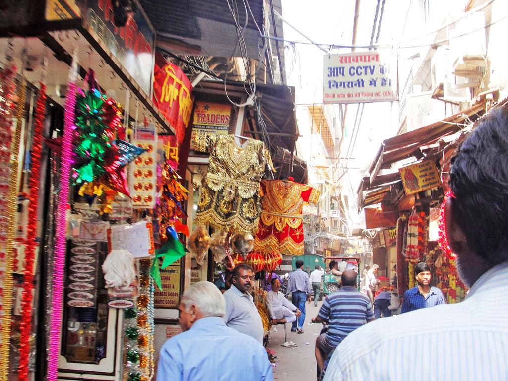 Índia - Delhi - Comércio