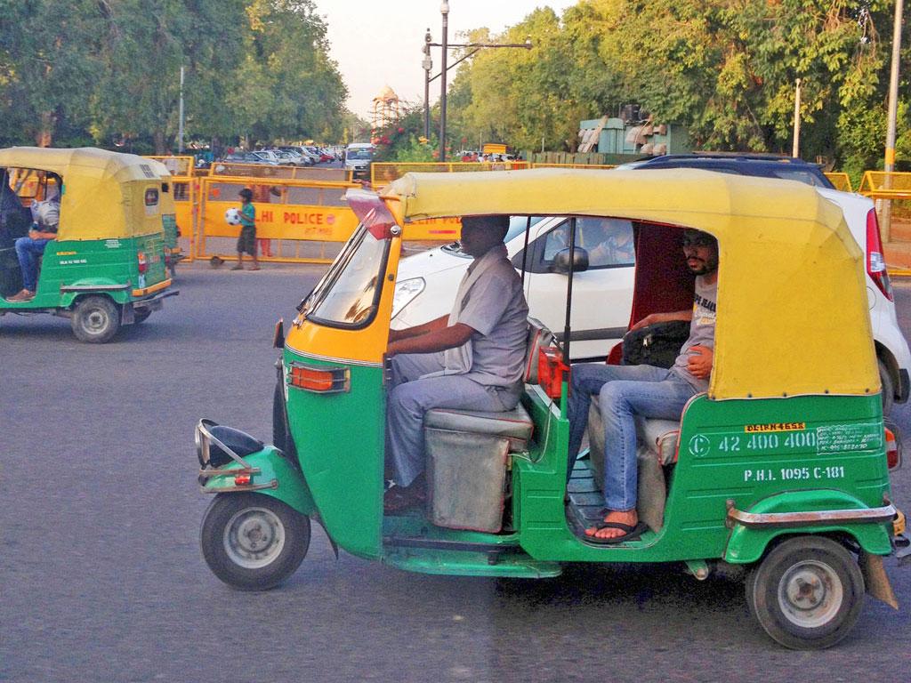 Índia - Delhi - Tuk Tuk