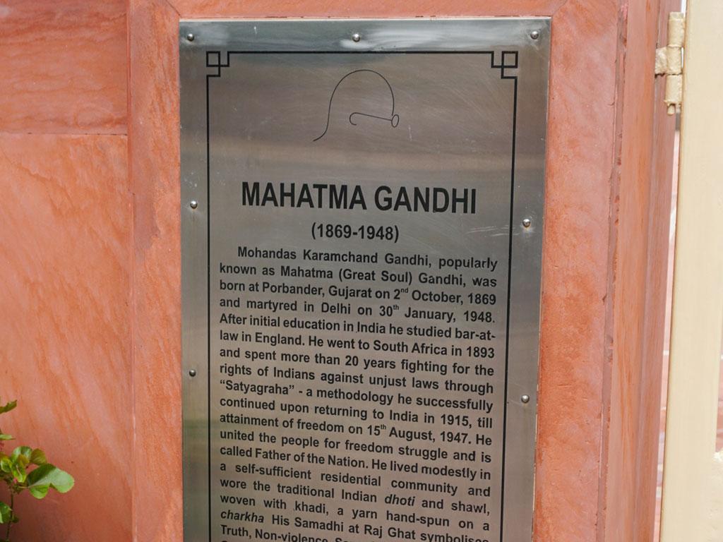 Índia - Delhi - Memorial de Gandhi
