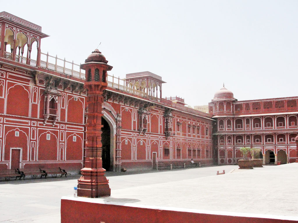 Índia - Jaipur - Palácio Real
