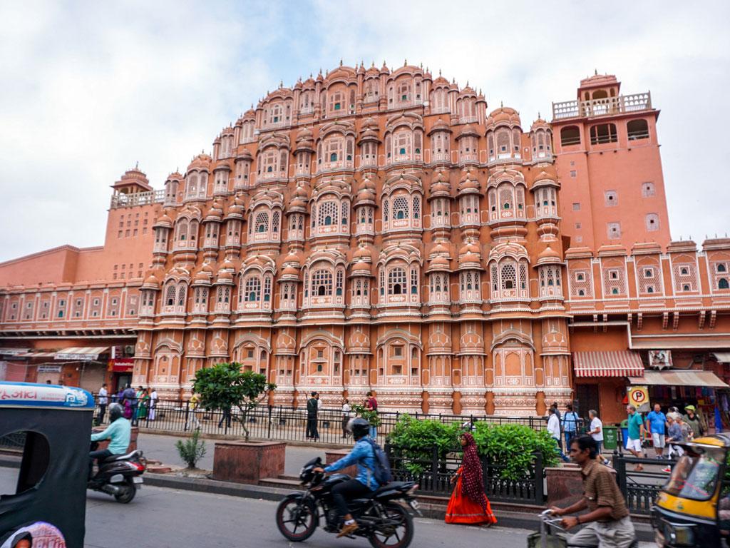Índia - Jaipur - Palácio dos Ventos