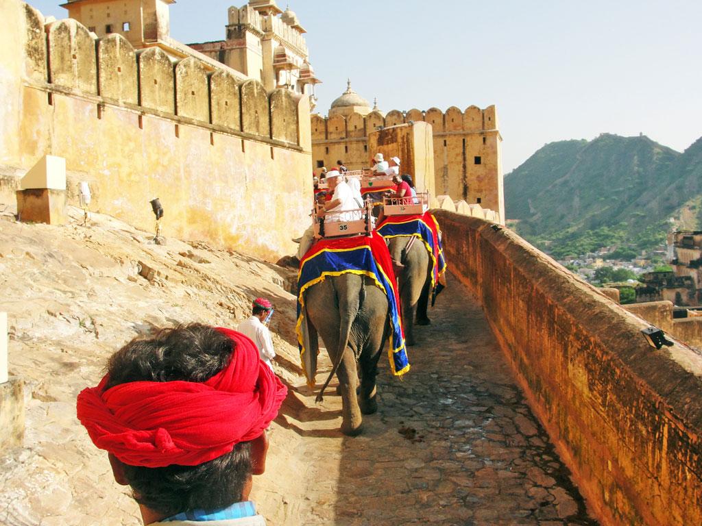 Índia - Jaipur - Forte Amber