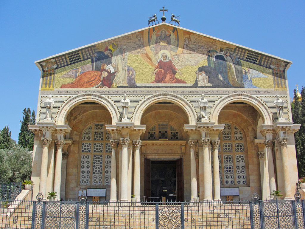 Israel - Jerusalém - Basílica da Agonia