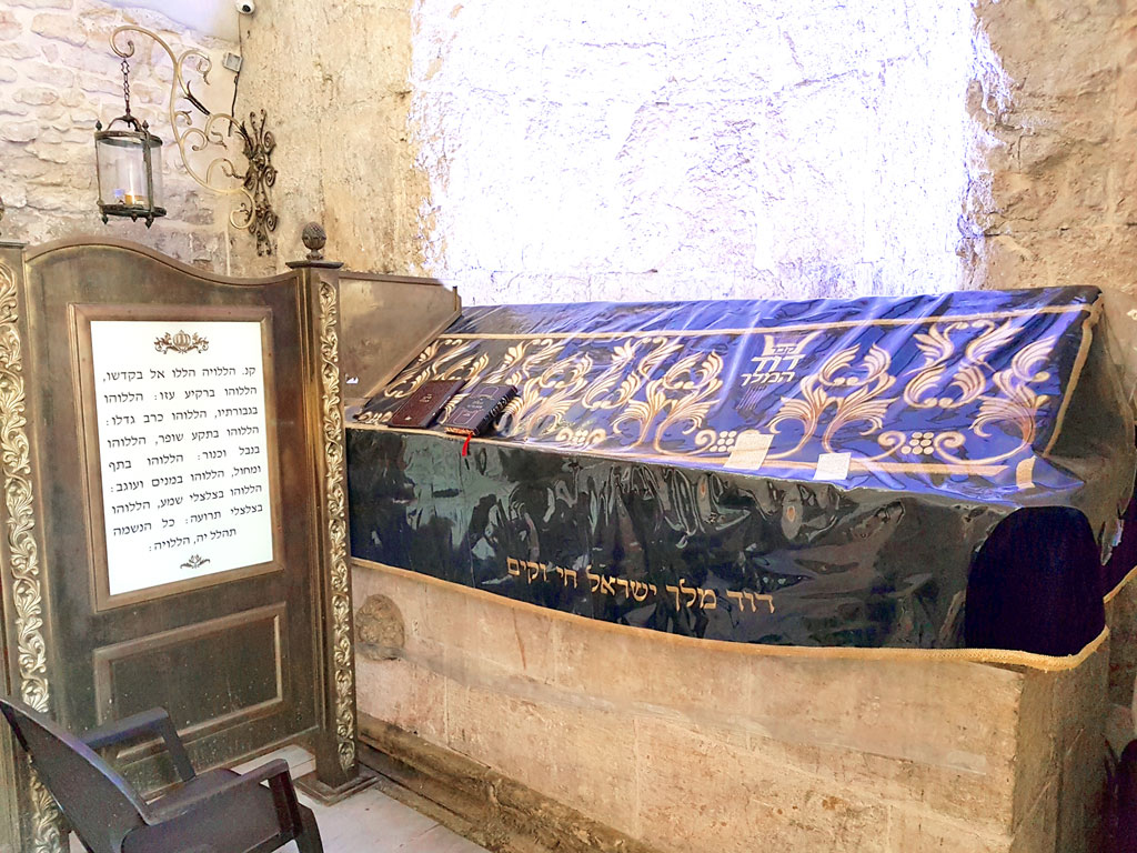 Israel - Jerusalém - Túmulo do rei David