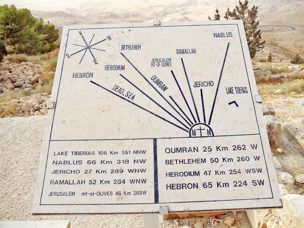 Jordânia - Monte Nebo