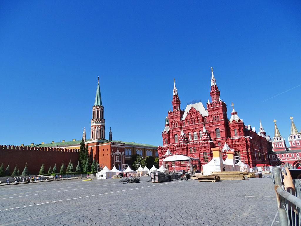 Rússia - Moscou - Praça Vermelha