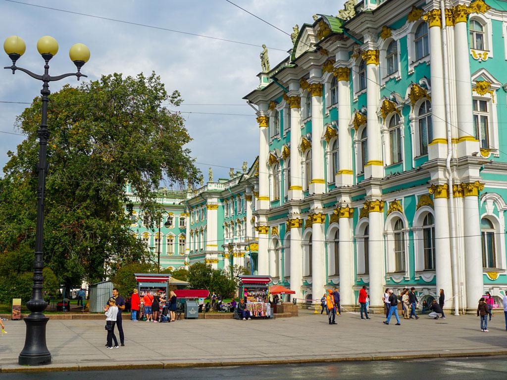 Rússia - Sao Petesburgo - Museu Hermitage