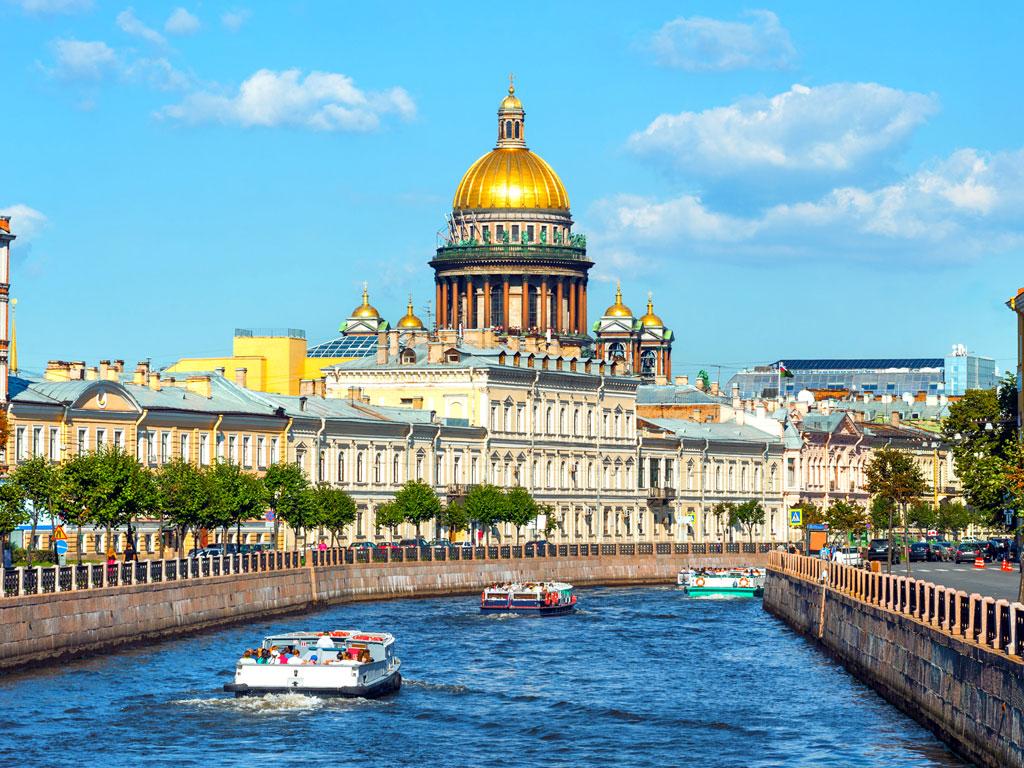 Rússia - São Petesburgo - Catedral de Santo Isaac