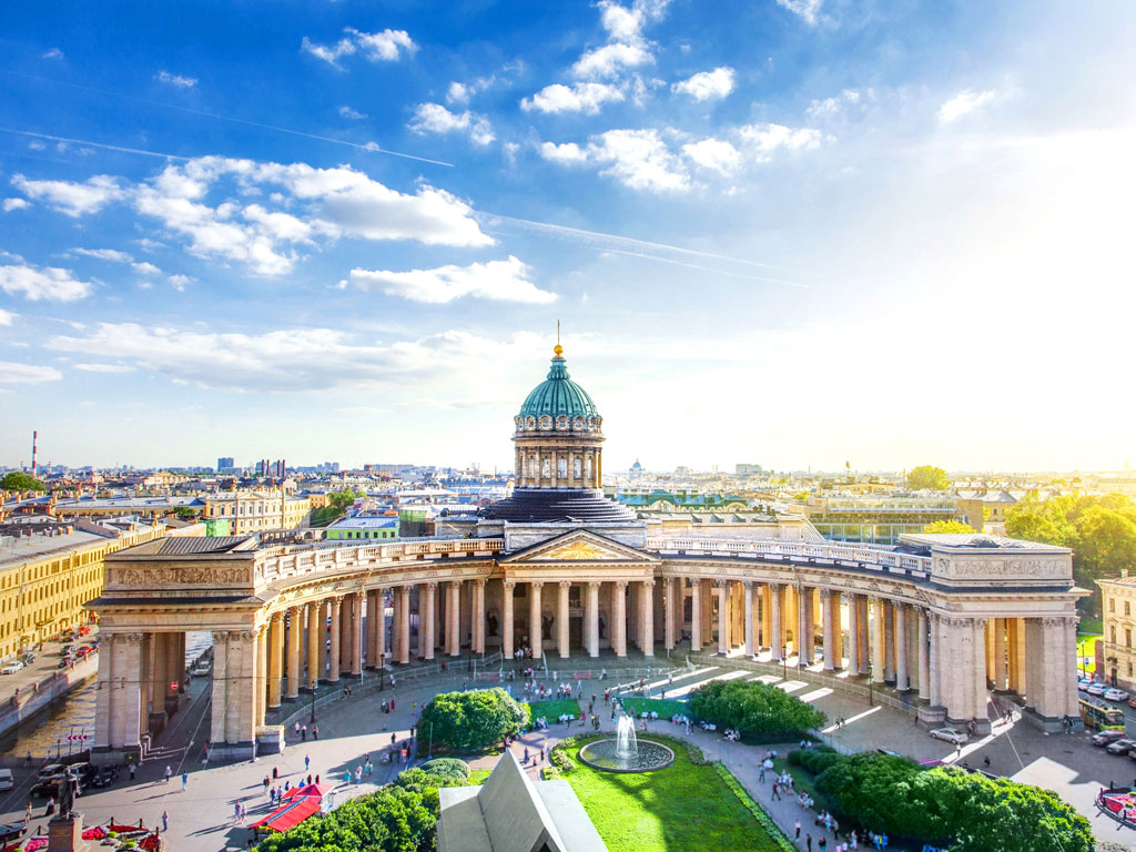 Rússia - São Petesburgo - Catedral de Nossa Senhora de Kazan