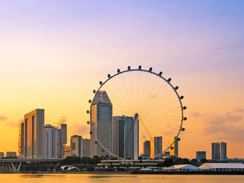 Singapura - Roda gigante