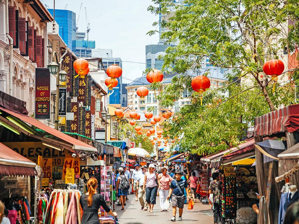 Singapura - China Town