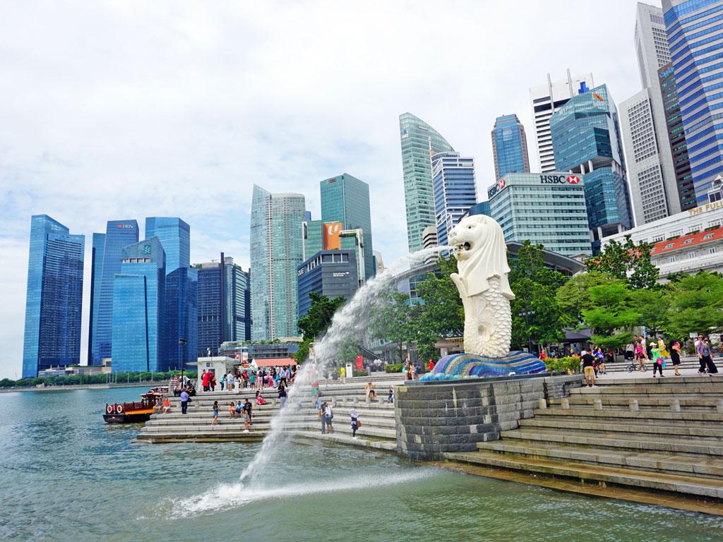 Singapura - Merlion