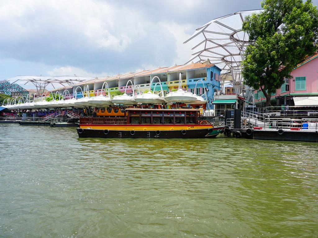 Singapura - Clarke Quay