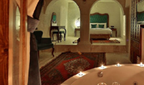 Turquia - Capadócia - Hotel na caverna